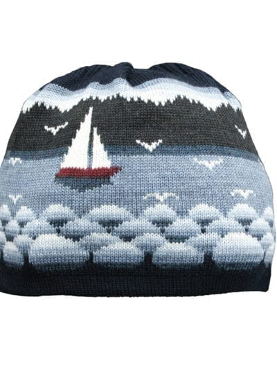 Sailing boat villapipo sininen