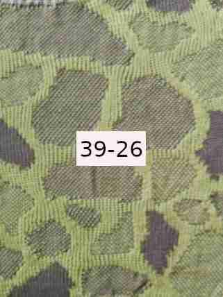 Bio Flachs hellgrün - grau