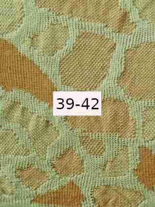 Luomupellava vaalean vihreä - okra