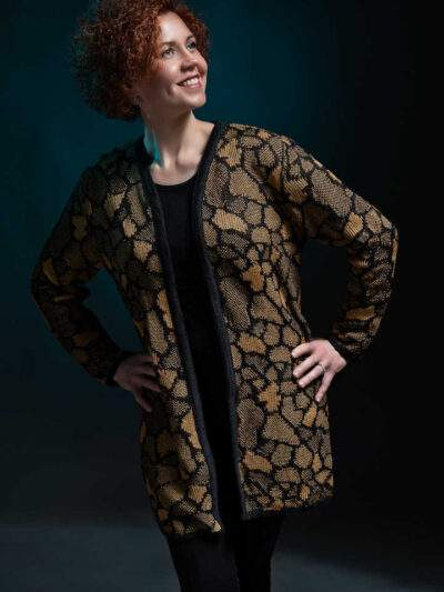 Nelle jacket from the pallasta black ocher