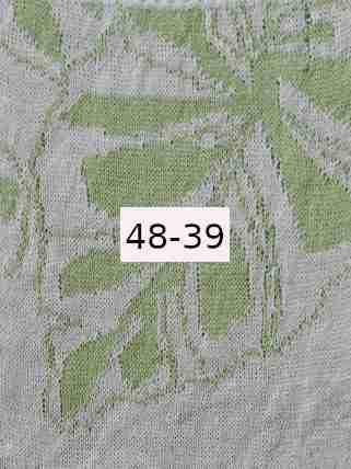 Luomupellava valkoinen vaalean vihreä