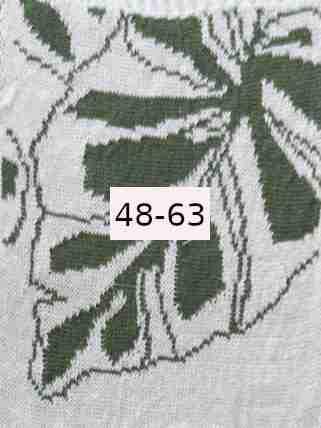 Luomupellava valkoinen vihreä