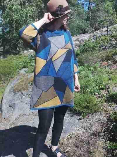 Paul Klee kolmiot sininen